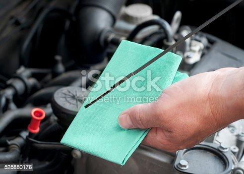 istock Checking oil status 525880176