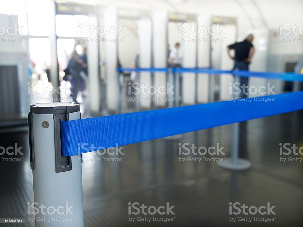 Checking Point royalty-free stock photo