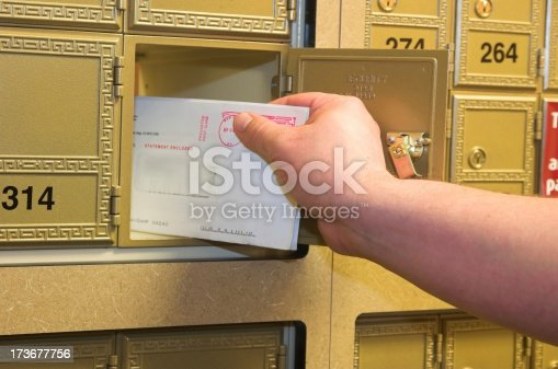 istock checking the mail 173677756