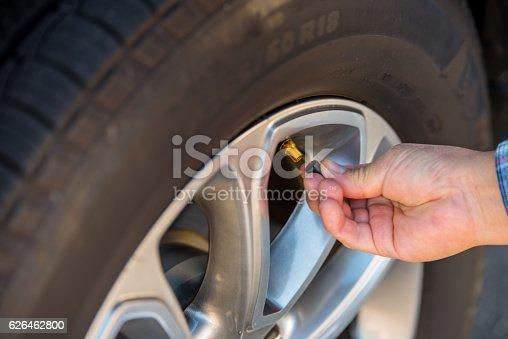Tire valve stem