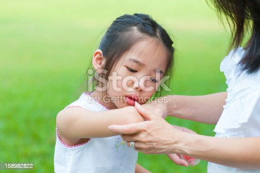istock checking wound 158982822