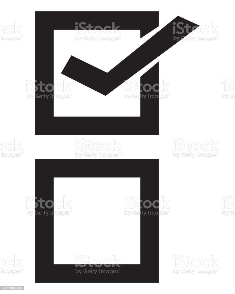checklist Icon stock photo