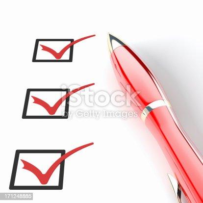 istock Checklist 171248885
