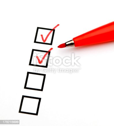 istock Checklist 175215699