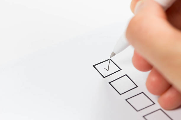 checklist - checklist stock photos and pictures