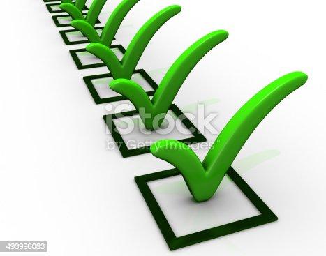 istock Checklist 493996083
