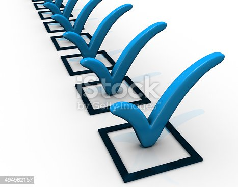 istock Checklist 494562157