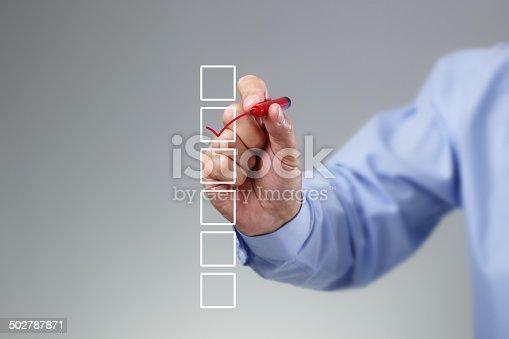 istock Checklist 502787871
