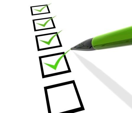 Checklist Stock Photo - Download Image Now