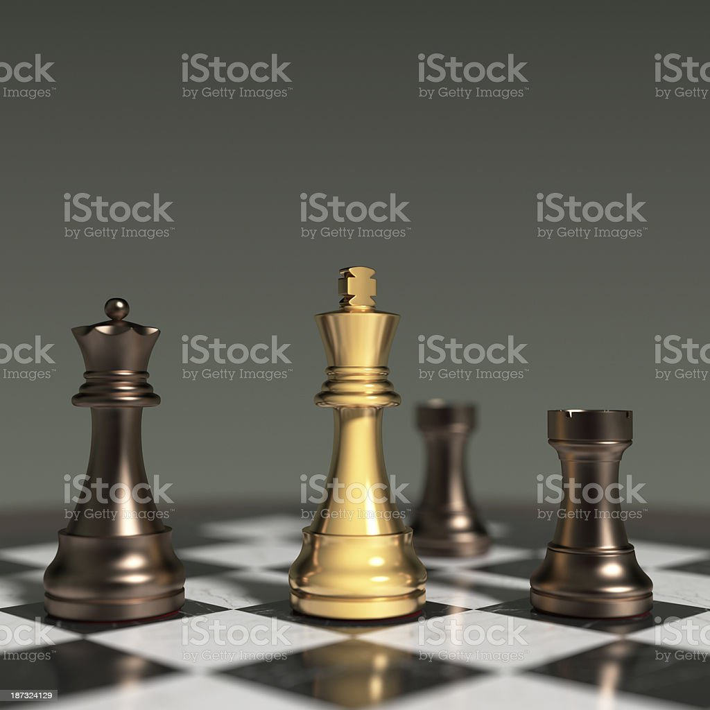 Checkmate XL+ royalty-free stock photo