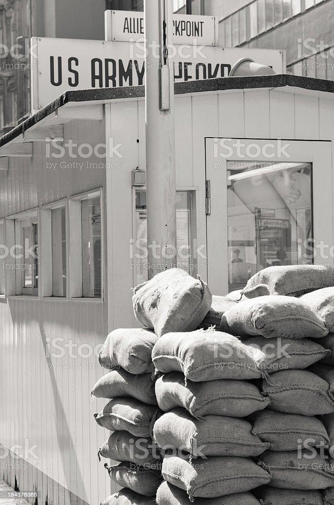 Checkpoint Charlie (Berlin) stock photo