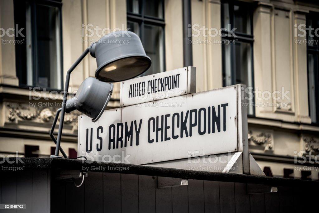 Checkpoint Charlie – Foto