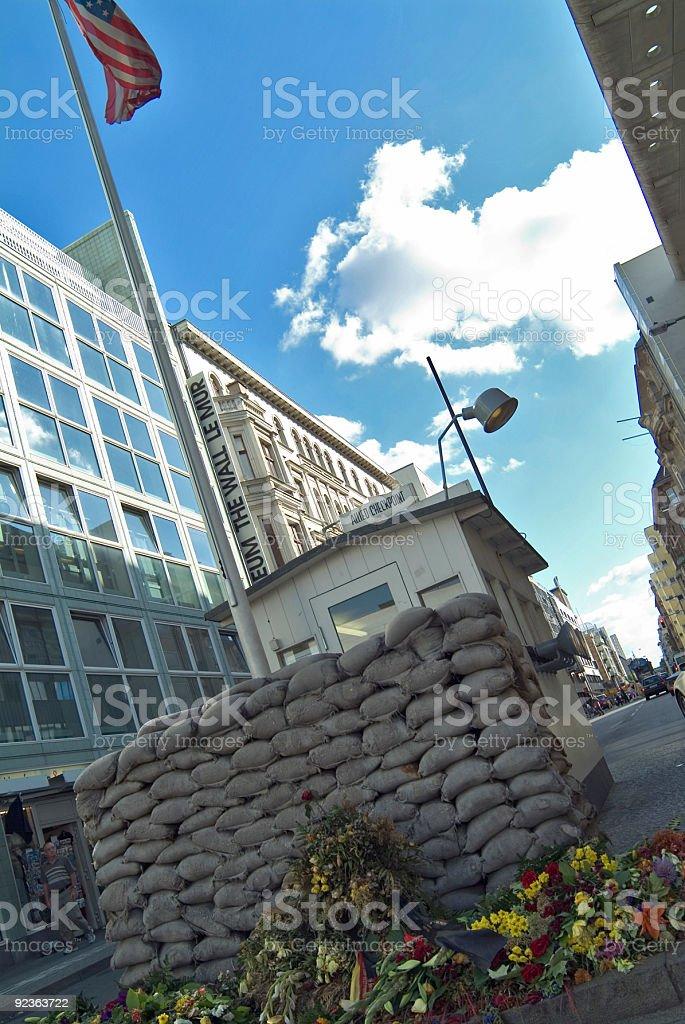 Checkpoint Charlie Lizenzfreies stock-foto