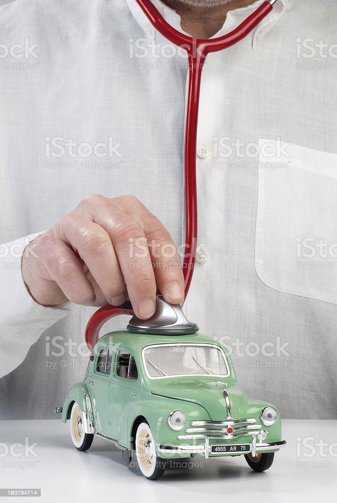 Checkup stock photo