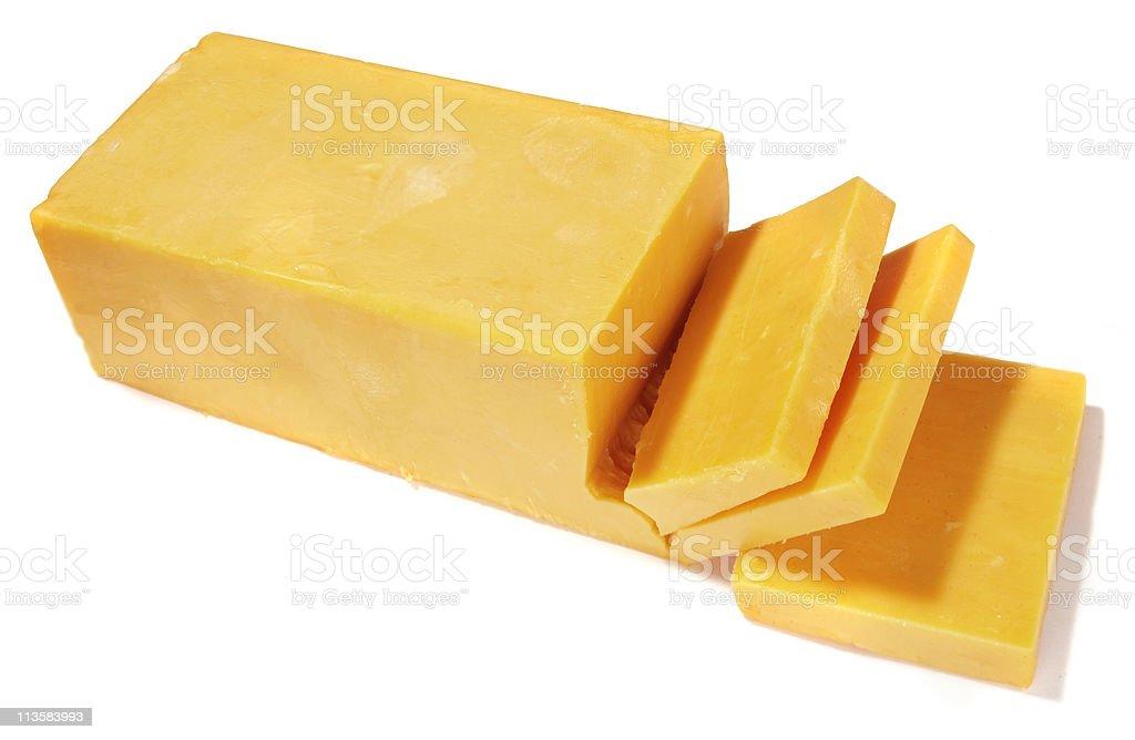 Käse auf Weiß – Foto