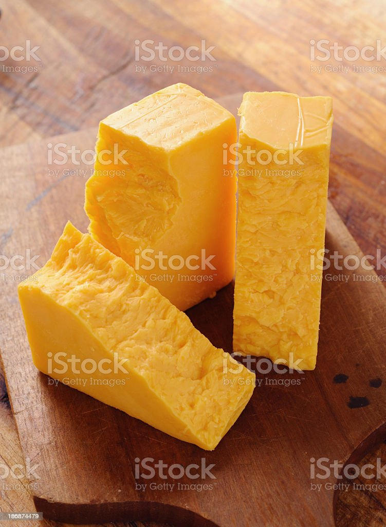 Cheddar Cheese stock photo