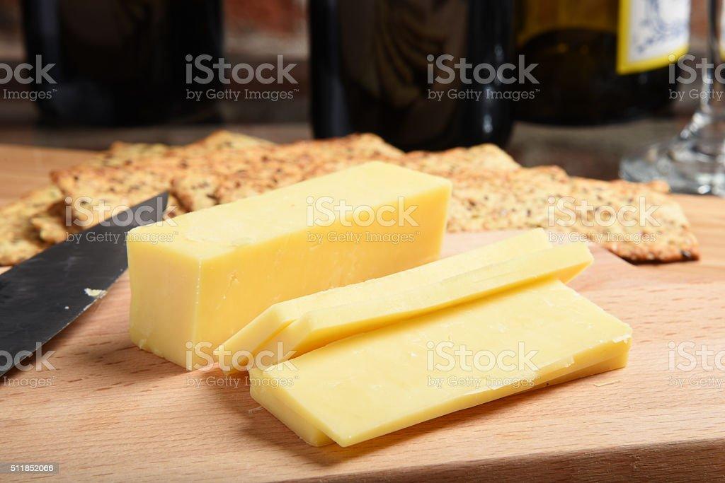 Formaggio Cheddar - foto stock
