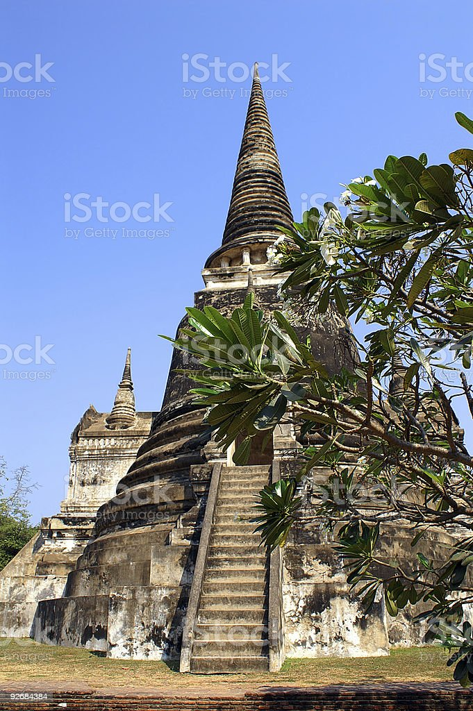 Chedi royalty-free stock photo