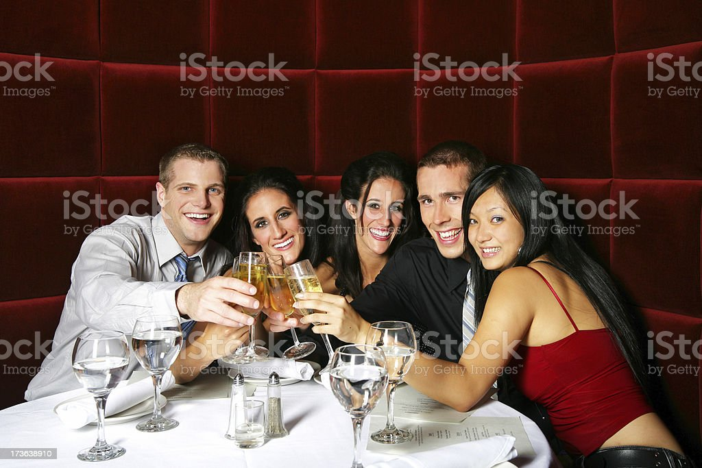 Cheeers royalty-free stock photo