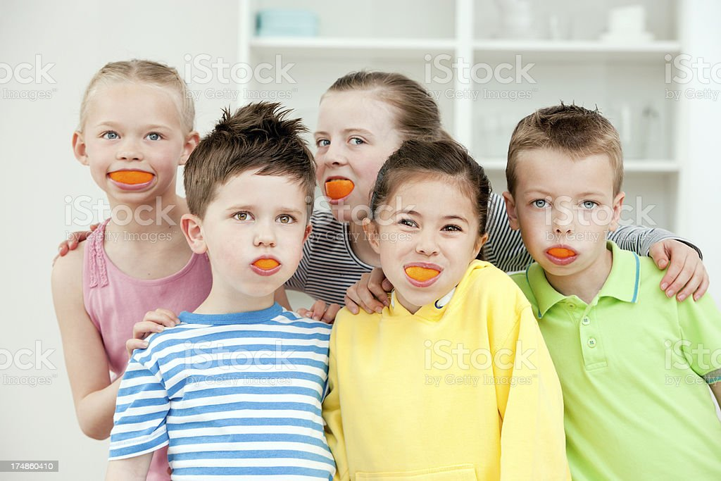 Cheeky Faces royalty-free stock photo