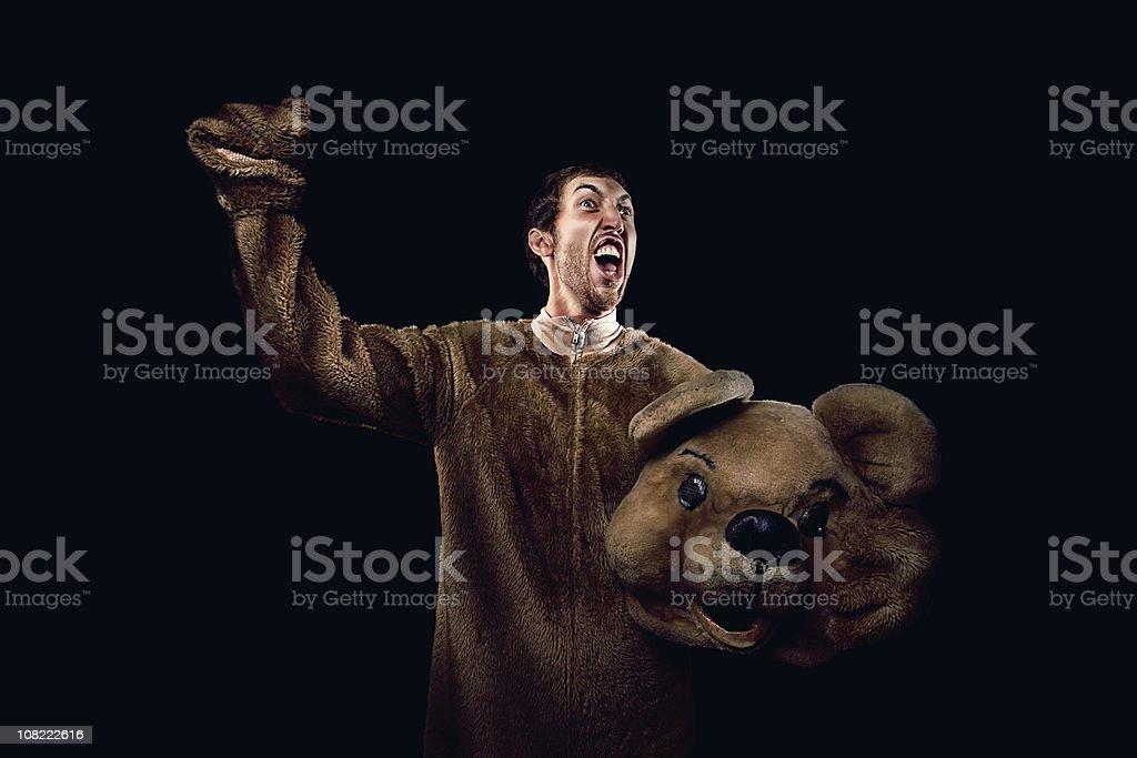 cheer bear stock photo