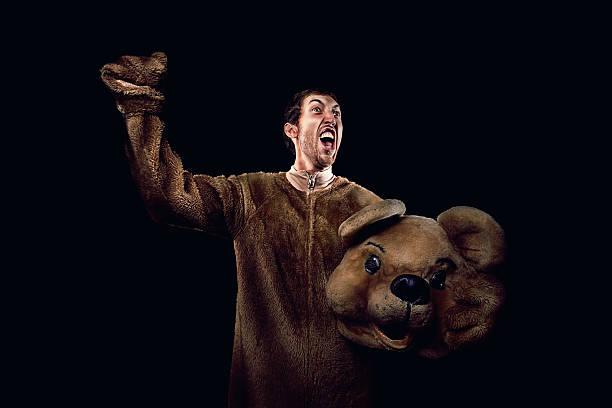 encouragez bear - mascotte photos et images de collection