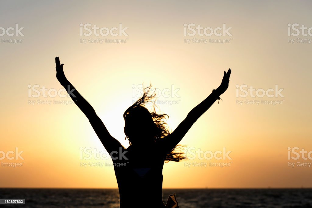 Cheer for Nature royalty-free stock photo