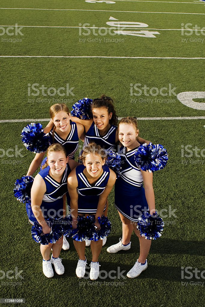 Cheer Team royalty-free stock photo
