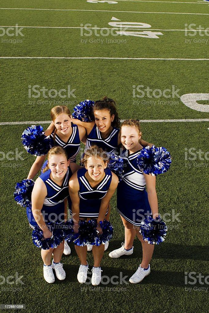 Cheer Team stock photo
