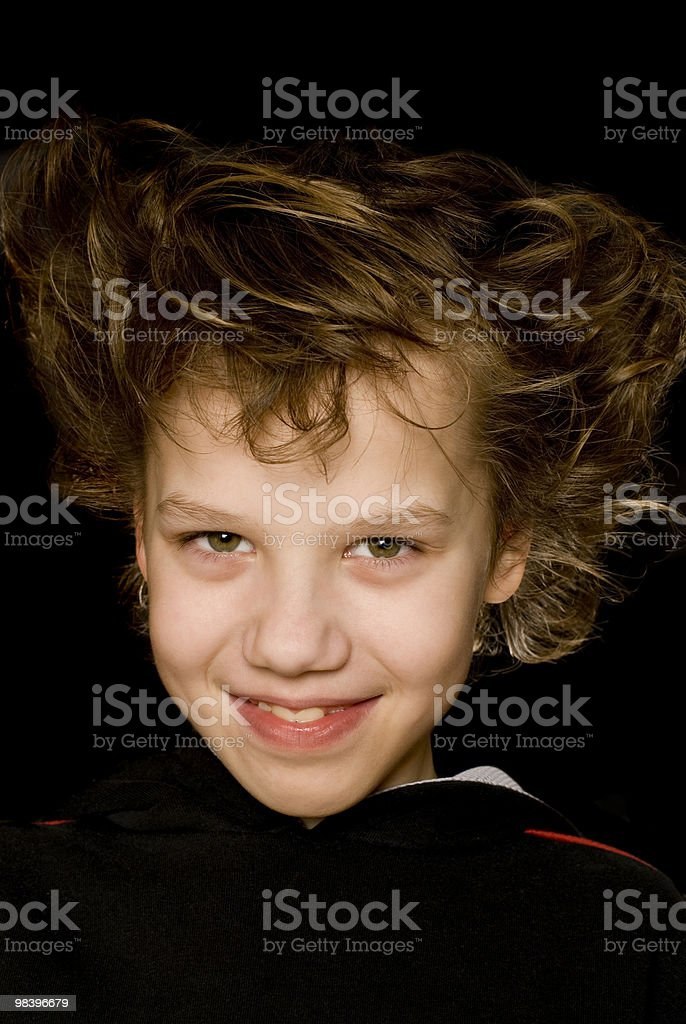 Cheerful boy royalty-free stock photo