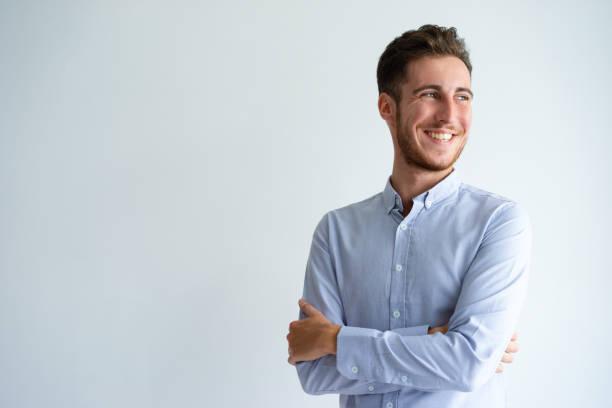 快樂的商人享受成功 - 年輕成年人 個照片及圖片檔