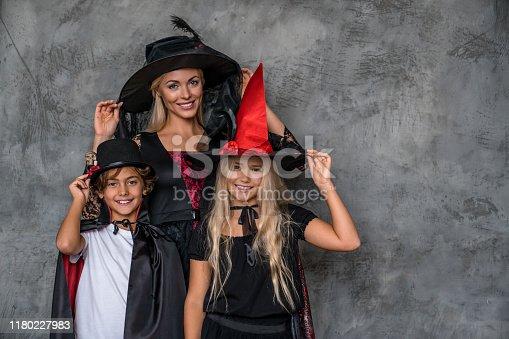 Family, Halloween, Autumn, Pumpkin, Childrens