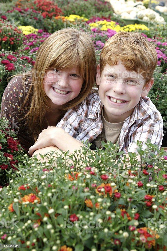Cheerful Children royalty-free stock photo