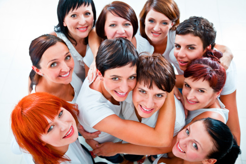 Cheerful Friends Stock Photo - Download Image Now