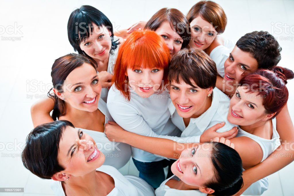 Cheerful friends  Adult Stock Photo