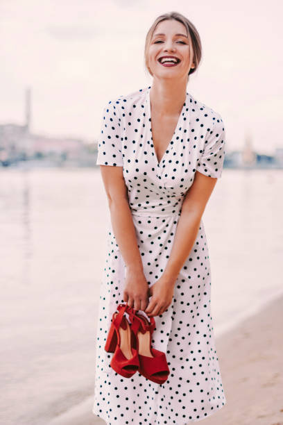 2,928 Pretty Woman Polka Dot Dress Stock Photos, Pictures & Royalty-Free  Images - iStock
