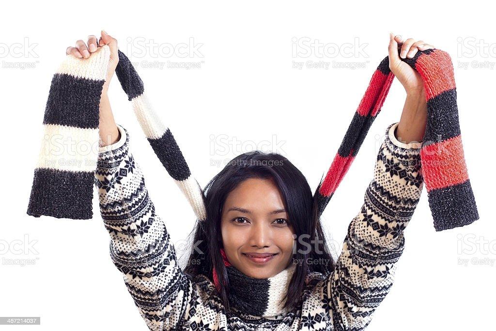 Cheerful girl royalty-free stock photo