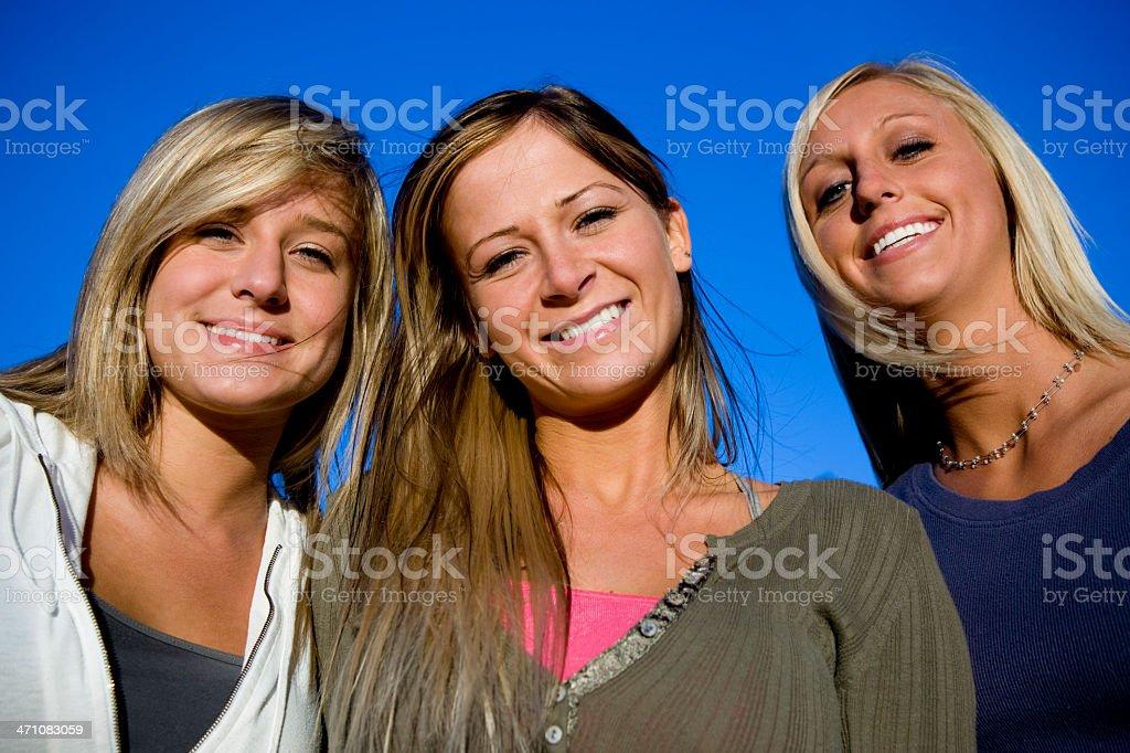 Cheerful Girls royalty-free stock photo