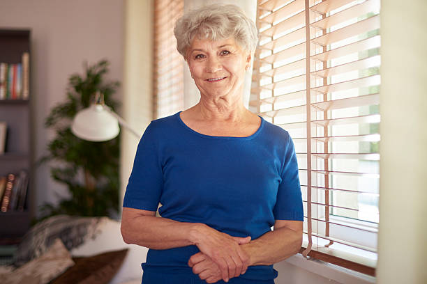 Royalty Free Granny Posing Pictures, Images and Stock