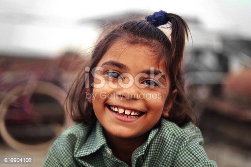 istock Cheerful Happy Girl 616904102