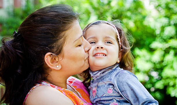 Best Indian Mother And Baby Girl Stock Photos, Pictures
