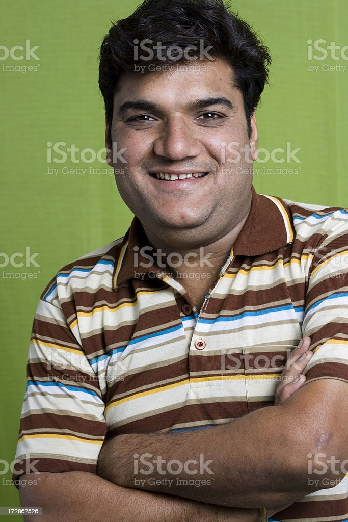 Cheerful Indian Youth royalty-free stock photo
