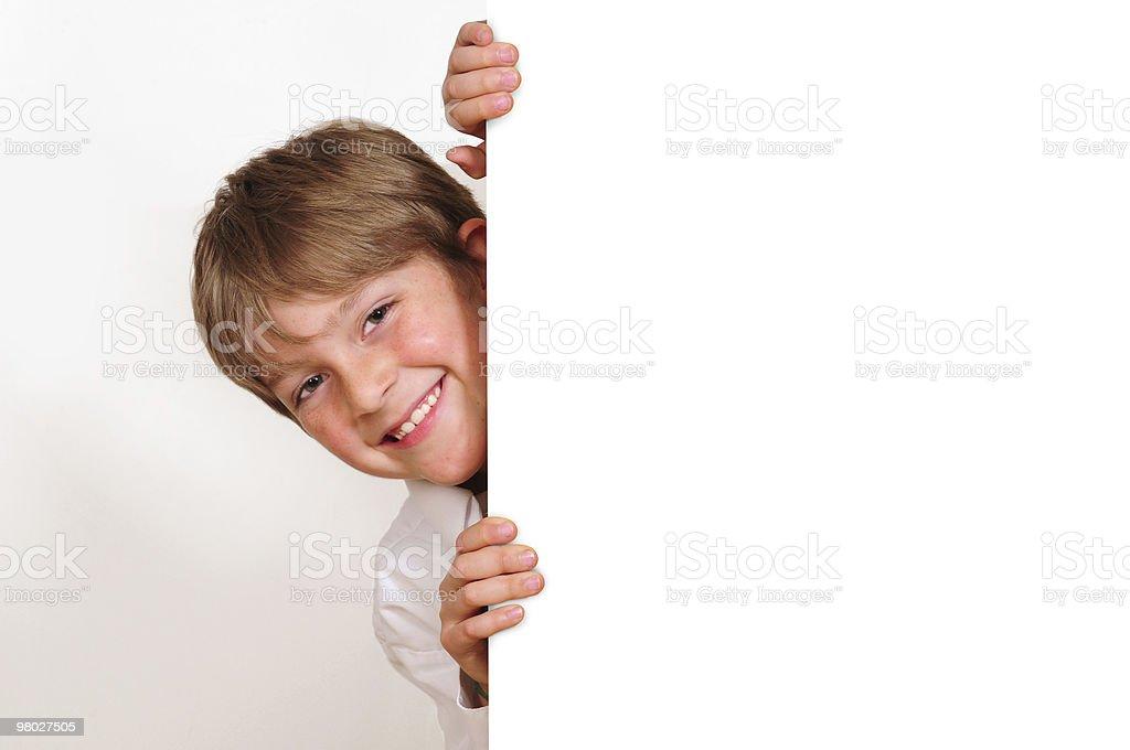 Cheerful kid. royalty-free stock photo