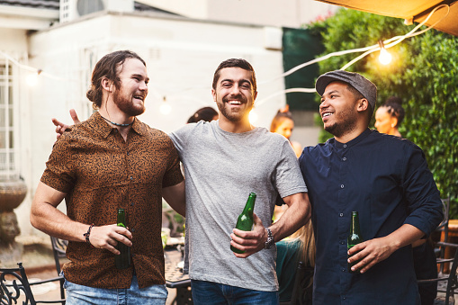 Image result for images of man partying with friends