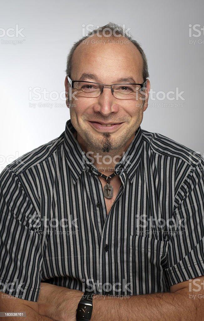 Cheerful man royalty-free stock photo