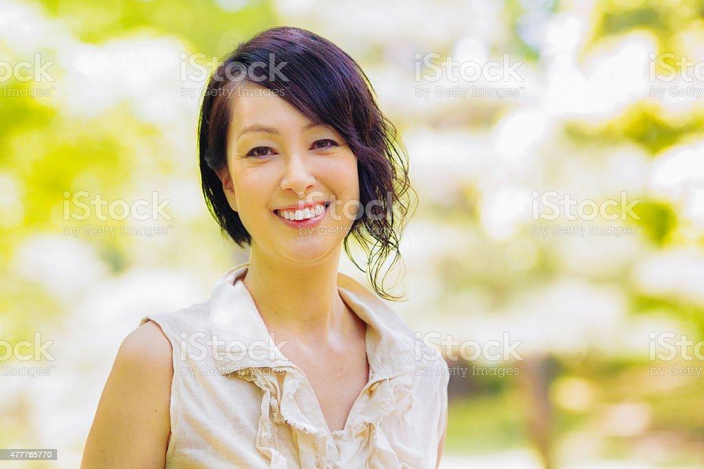 Japaner Eine reife Frau77