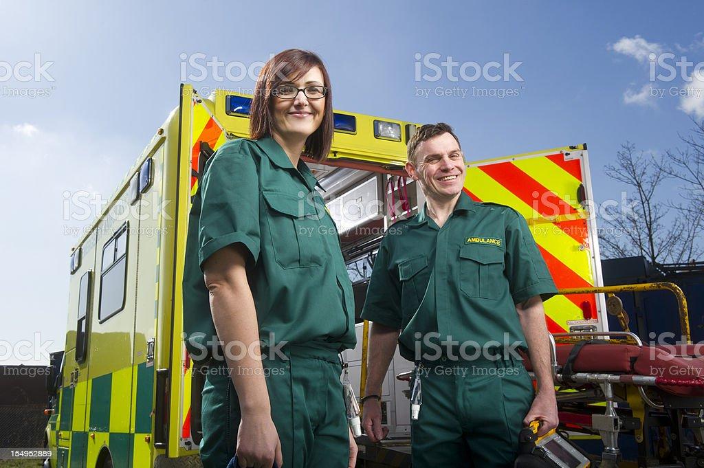 Enthousiaste auxiliaires médicaux - Photo