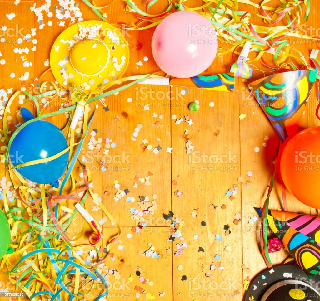 Cheerful party background royalty-free stock photo