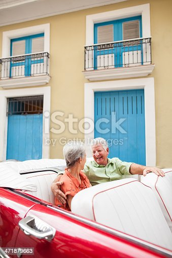 108329737 istock photo Cheerful senior couple enjoying Cuba 471879663