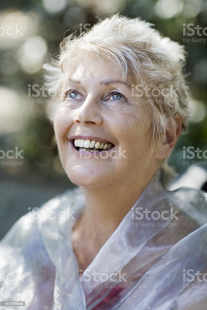 Cheerful smile royalty-free stock photo